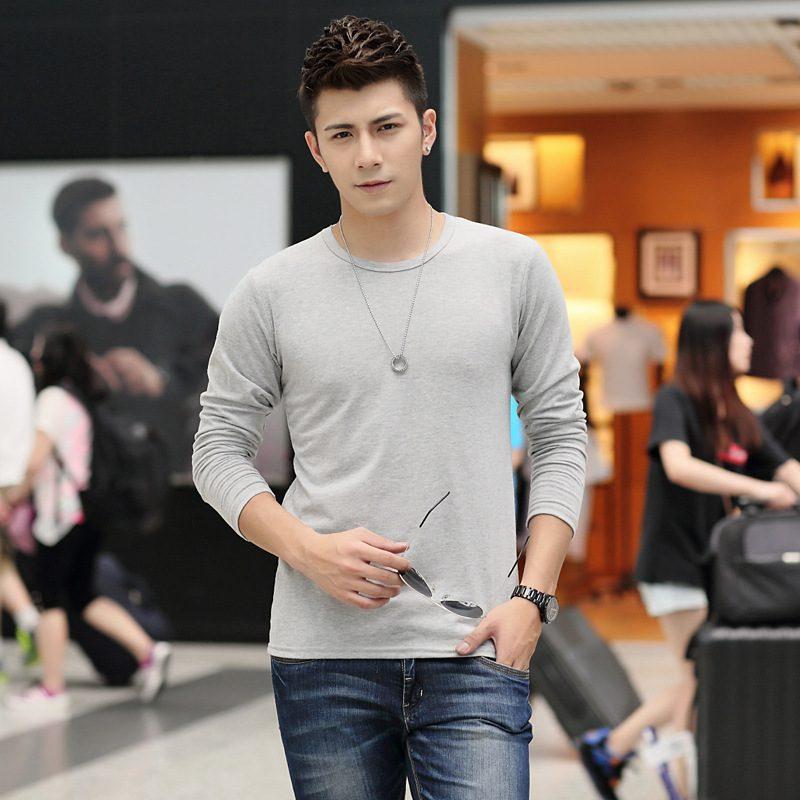 Autumn-Thin-Style-Long-Hip-Hop-T-shirt-Full-Sleeves-O-neck-Men-Shirt-Tshirt-Cotton
