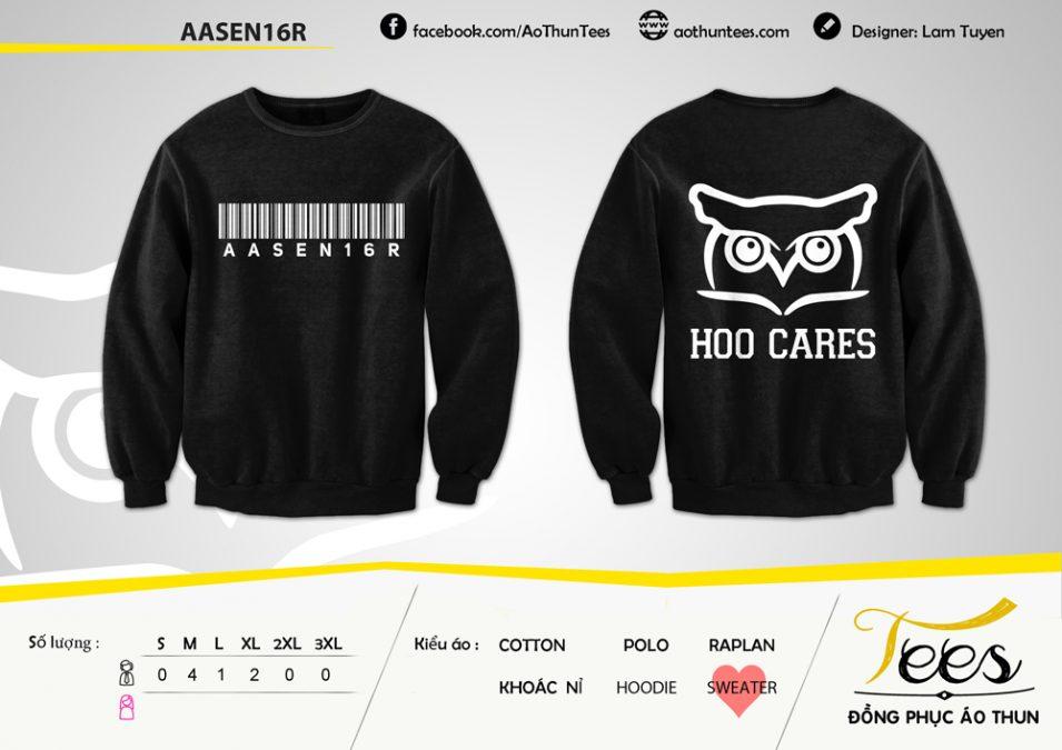 Áo sweater nhóm AASEN16R