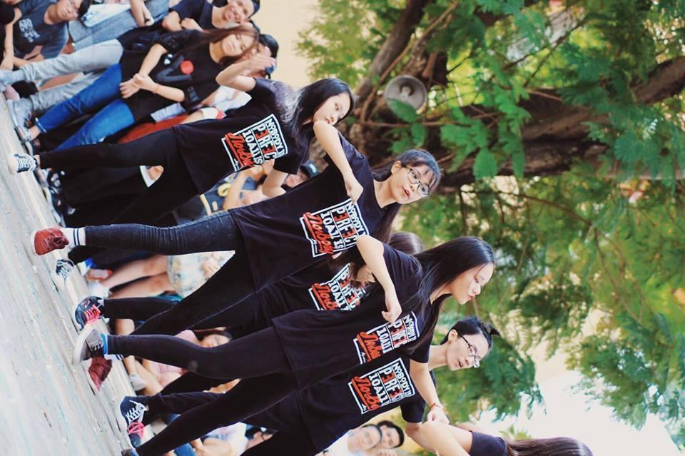 Áo thun đồng phục lớp 10A11 trường THPT Marie Curie