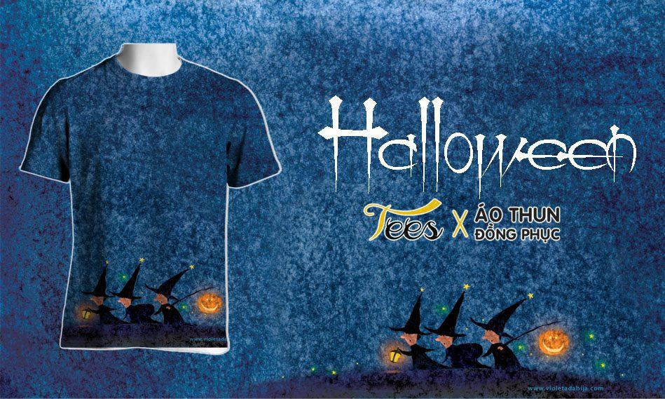 halloween - Áo thun cho ngày Halloween