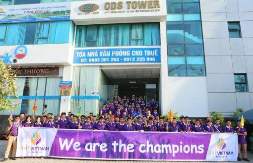 Áo thun Team Building – Công ty THT Việt Nam