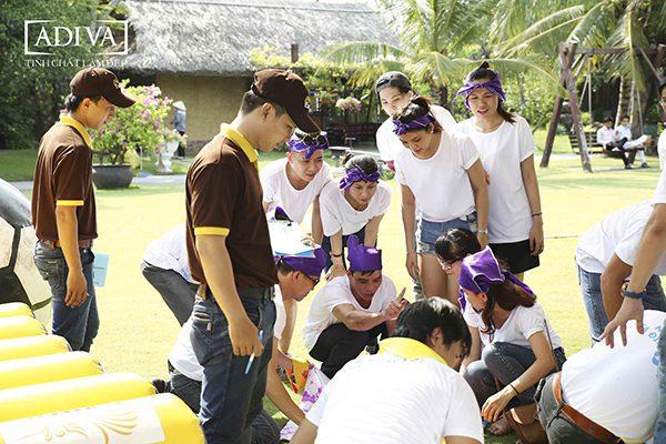 Áo thun Team Building Trần Toàn Phát – [ADIVA]
