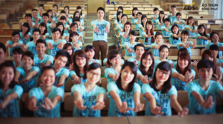 KH13HCH3 112 - Sắc xanh áo thun lớp KH13HCH3 – Học viện Hành chính Quốc gia
