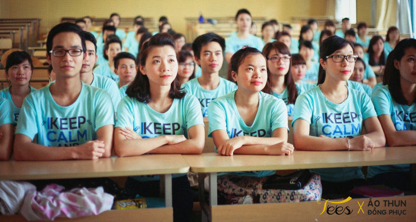 KH13HCH3 17 - Sắc xanh áo thun lớp KH13HCH3 – Học viện Hành chính Quốc gia