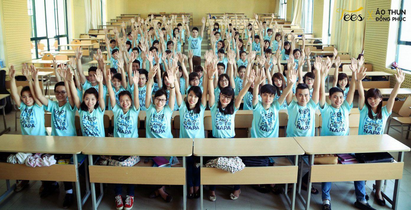 KH13HCH3 19 - Sắc xanh áo thun lớp KH13HCH3 – Học viện Hành chính Quốc gia