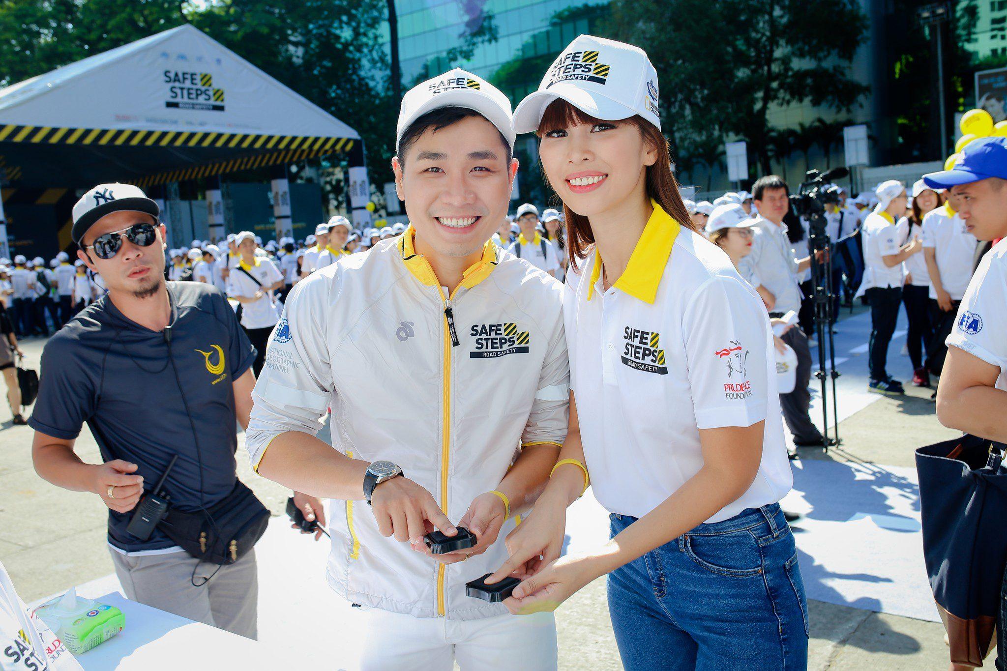 Ao thun Safe steps Road Safety 8 - Bừng sáng sự kiện Safe Steps của Liên Hợp Quốc tại Việt Nam với áo thun sự kiện