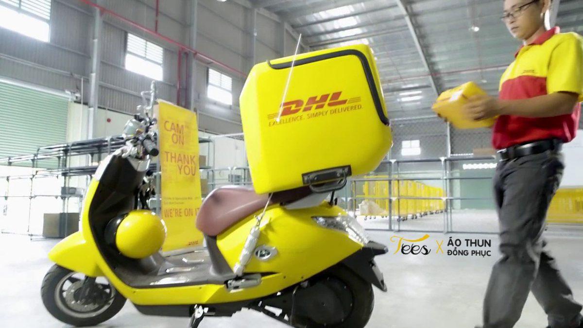 Áo thun đồng phục công ty chuyển phát nhanh DHL Việt Nam – Ver 2018