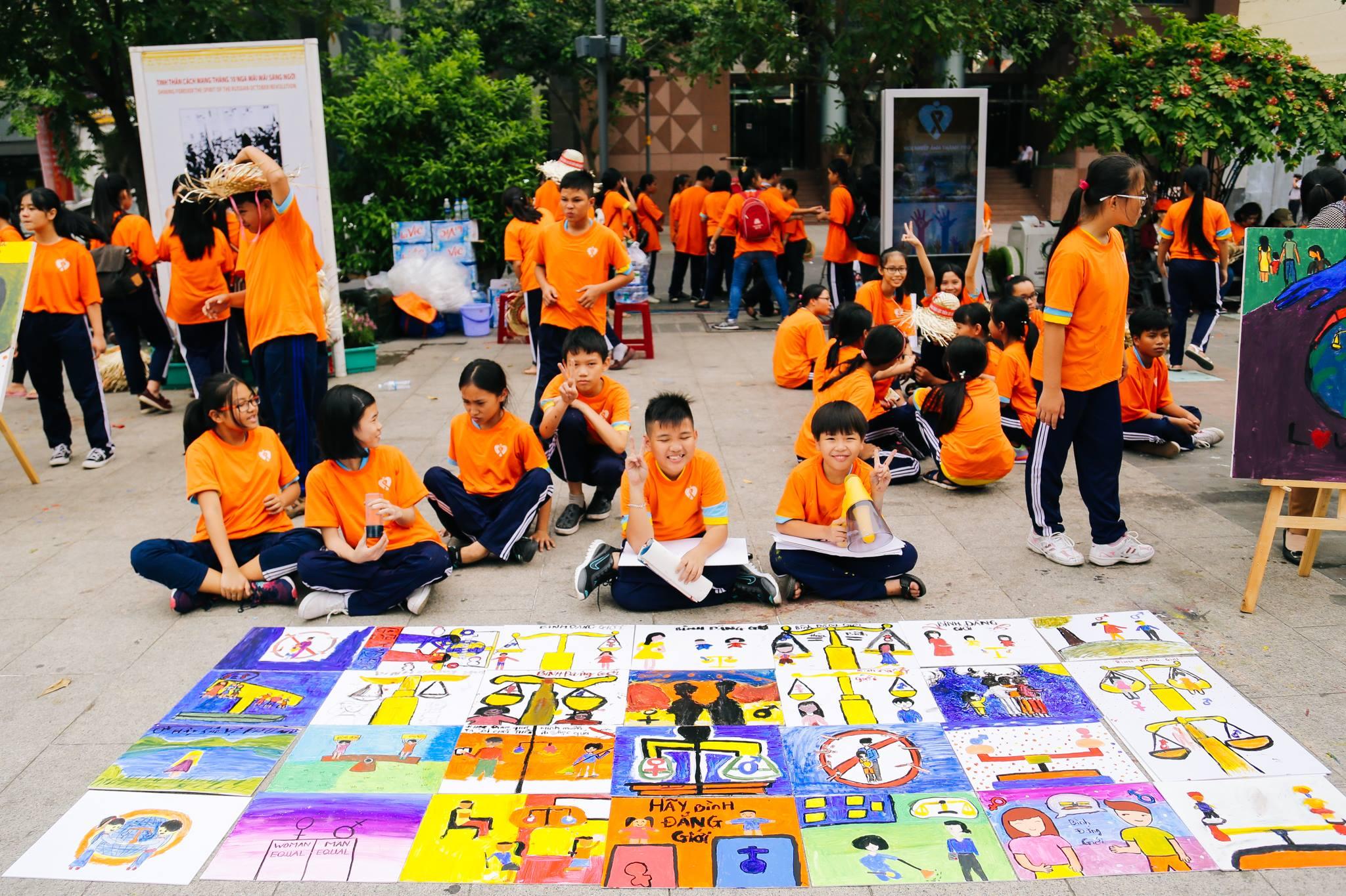 haylentieng7 - Sắc cam áo thun sự kiện UN Women Việt Nam