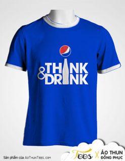 Áo thun Think & Drink – Pepsi Việt Nam