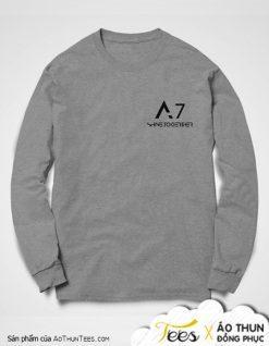 Áo sweater đồng phục lớp 12A7 trường THPT Long Xuyên