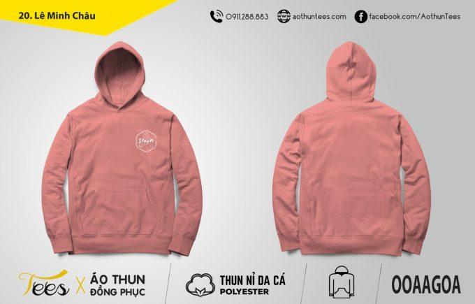 Áo hoodie lớp A7 trường THPT Lê Minh Xuân