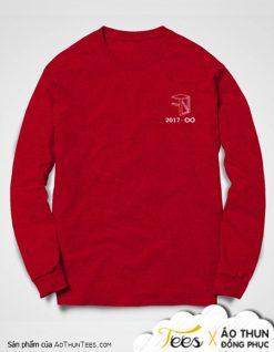 Áo sweater đồng phục lớp 12A7 trường THPT Vân Đồn