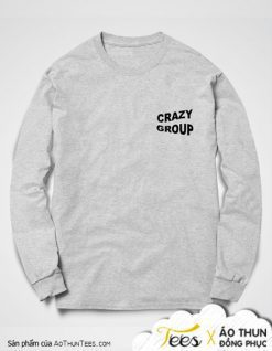 Áo sweater Crazy Group