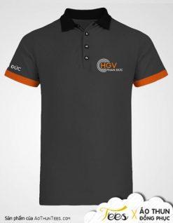 Áo thun đồng phục công ty Hồng Gia Việt