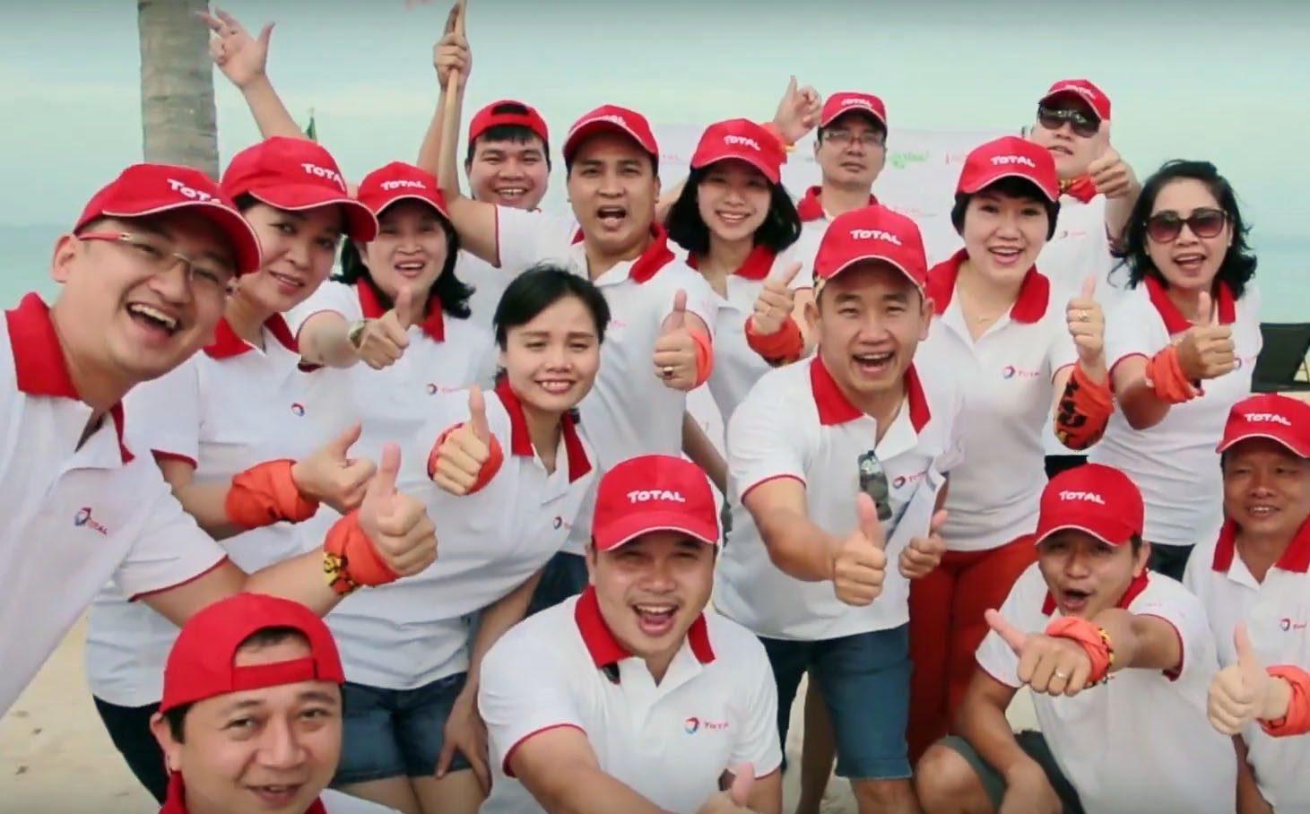 Áo thun Total Việt Nam – Team Building – Phú Quốc 2016