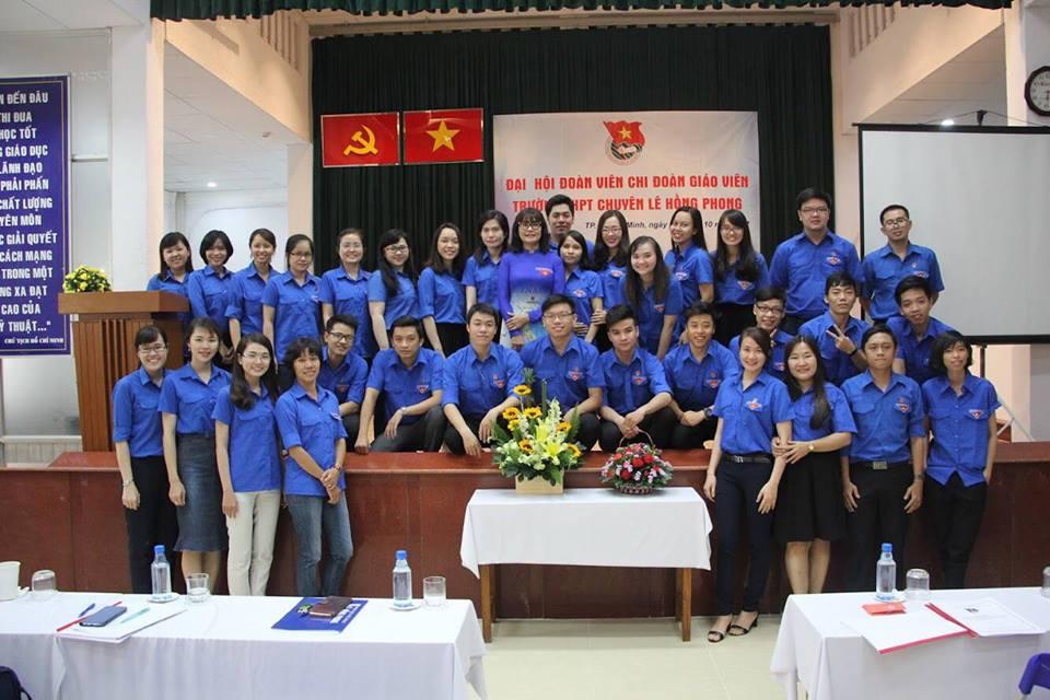 Áo thun lớp 12CH2 – Trường THPT chuyên Lê Hồng Phong