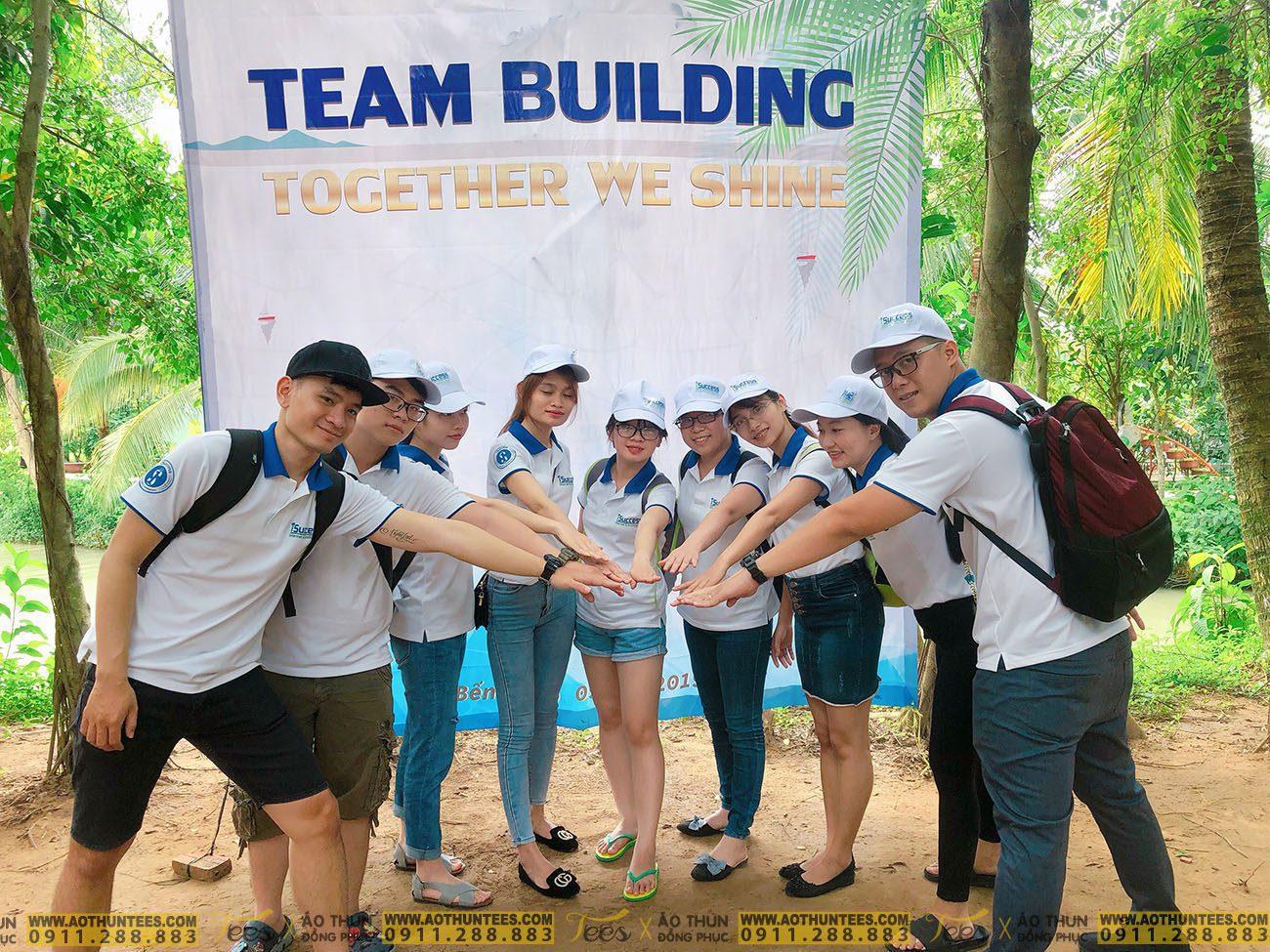 Áo thun team building Công ty TNHH iSUCCESS