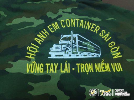 Áo thun rằn ri đồng phục Hội Anh em Container Sài Gòn