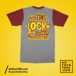Áo thun lớp 9A1 – In this time lock to your memories