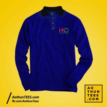 Áo thun đồng phục Công ty TNHH Hoa Nhiệt Đới – Mẫu tay dài
