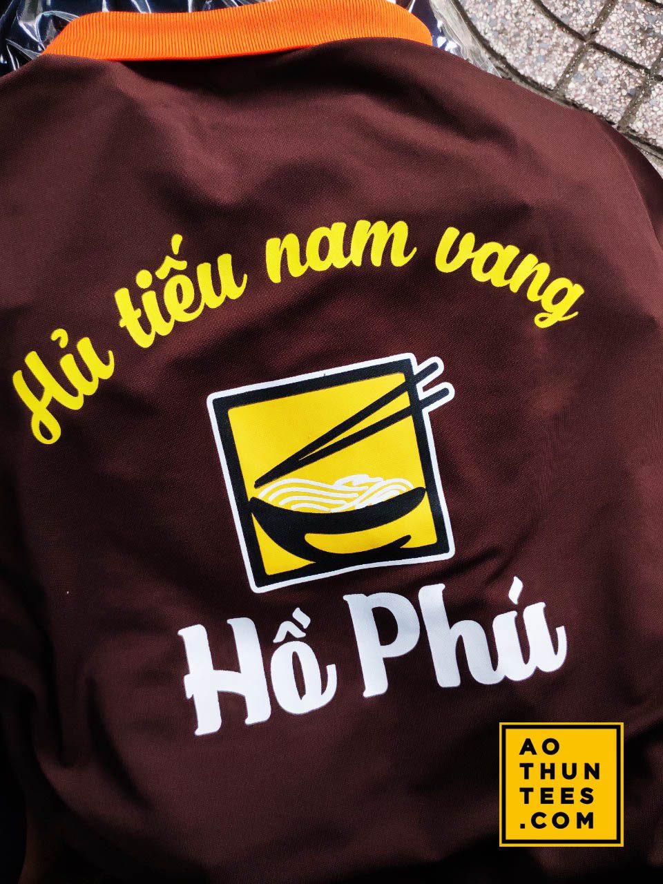 Áo thun đồng phục Hủ tíu nam vang Hồ Phú