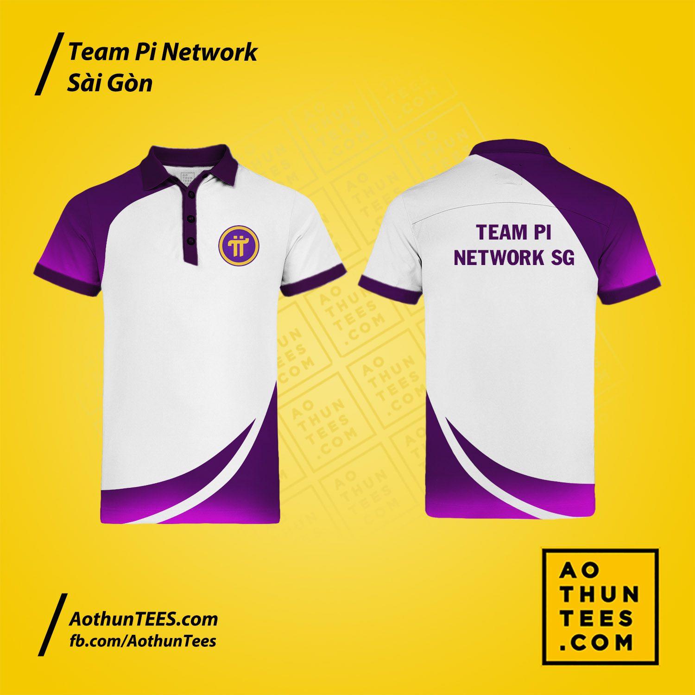 Áo thun đồng phục Team Pi Network Sài Gòn