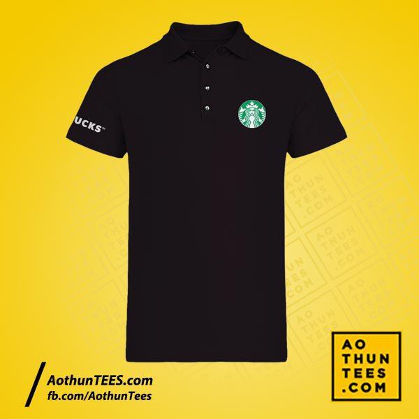 Áo thun đồng phục Starbucks Coffee Company