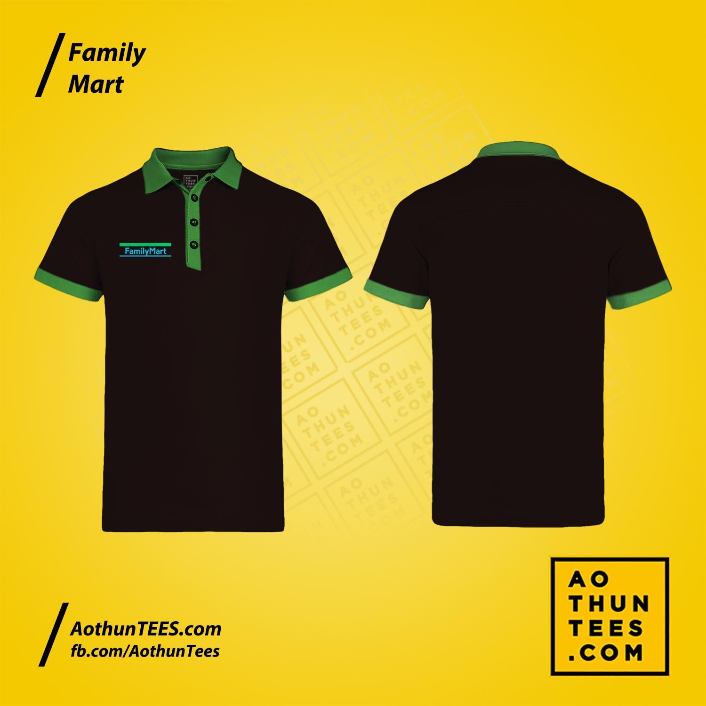 Áo thun đồng phục Family Mart