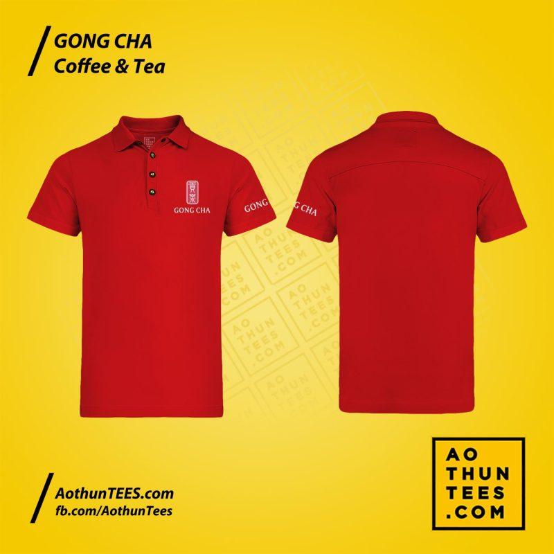 Áo thun đồng phục Gongcha