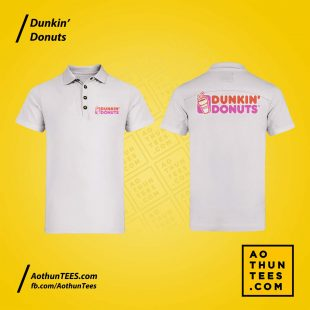 Áo thun đồng phục Dunkin Donuts