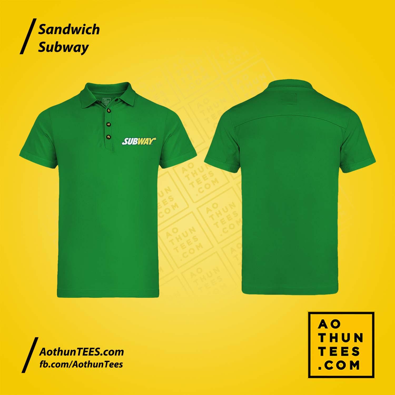 Áo thun đồng phục Sandwich Subway