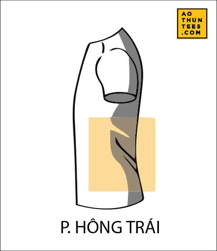 vi tri in tren ao thun P - 19 vị trí hình in trên áo thun phổ biến nhất