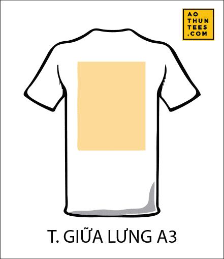 vi tri in tren ao thun T - 19 vị trí hình in trên áo thun phổ biến nhất